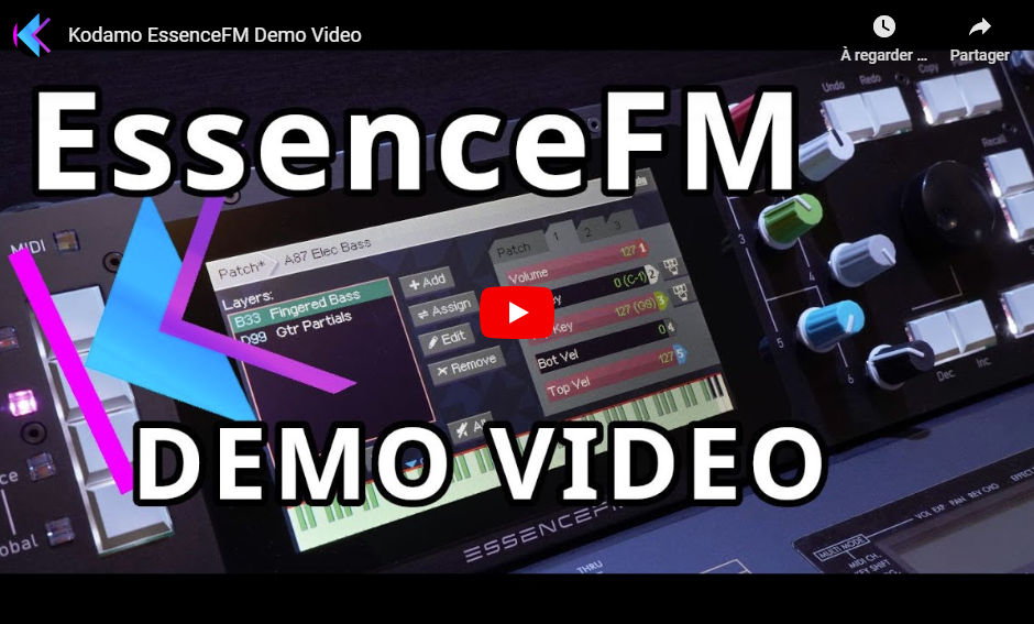 Youtube EssenceFM demo link